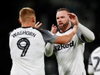 Result: Wayne Rooney captains Derby to victory over Barnsley