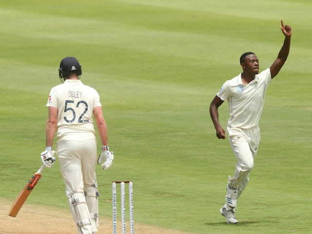 England reduced to 149-4 at tea against South Africa