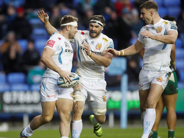 Result: League leaders Exeter ease to bonus-point victory at London Irish