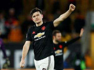 Harry Maguire an injury doubt for Manchester derby