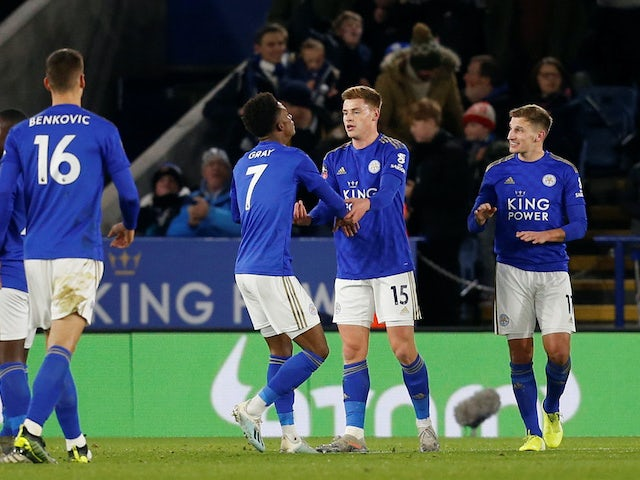 Result: Leicester ease into FA Cup fourth round