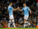 John Stones in action for Man City on January 4, 2020