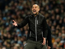 Manchester City manager Pep Guardiola pictured on January 1, 2020