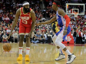 NBA roundup: James Harden stars again as Houston beat Philadelphia