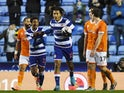 Reading's Danny Loader celebrates scoring their second goal on January 4, 2020