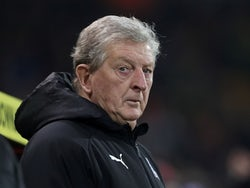 Crystal Palace manager Roy Hodgson before the match on January 1, 2020