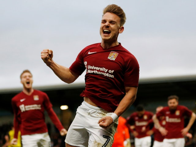 Result: League Two Northampton through to FA Cup fourth round