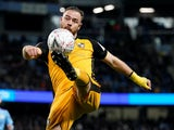 Tom Pope in action for Port Vale on January 4, 2020