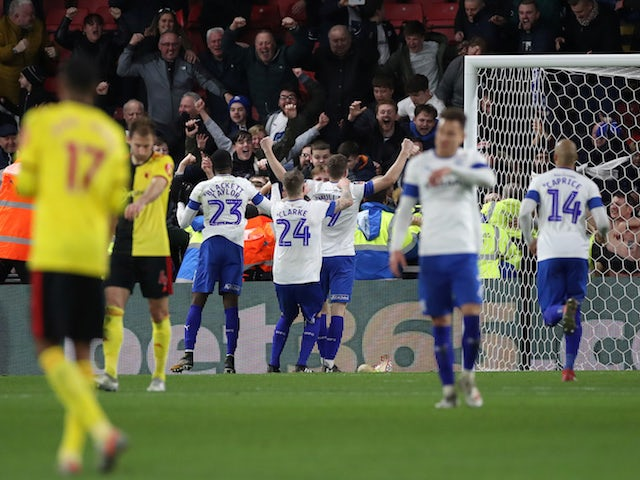 Result: Tranmere stun Watford with three-goal comeback to force replay