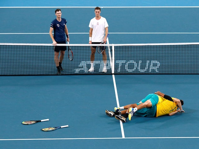 Nick Kyrgios hails career highlight as Australia beat GB in ATP Cup