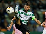 Bruno Fernandes in action for Sporting on October 24, 2019