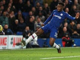 Callum Hudson-Odoi scores for Chelsea on January 11, 2020