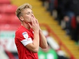Barnsley's Cameron McGeehan pictured in October 2019