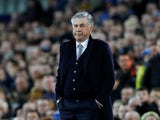 Everton manager Carlo Ancelotti on January 11, 2020