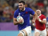 Charles Ollivon in action for France at the Rugby World Cup on October 20, 2019