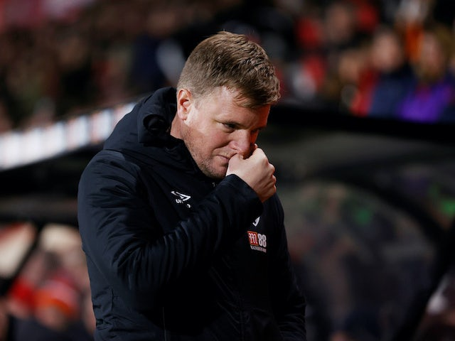 Bournemouth manager Eddie Howe on January 4, 2020