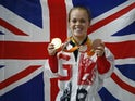 Medal winner Ellie Simmonds pictured in 2016