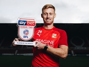 Eoin Doyle wins third Player of the Month award in a row