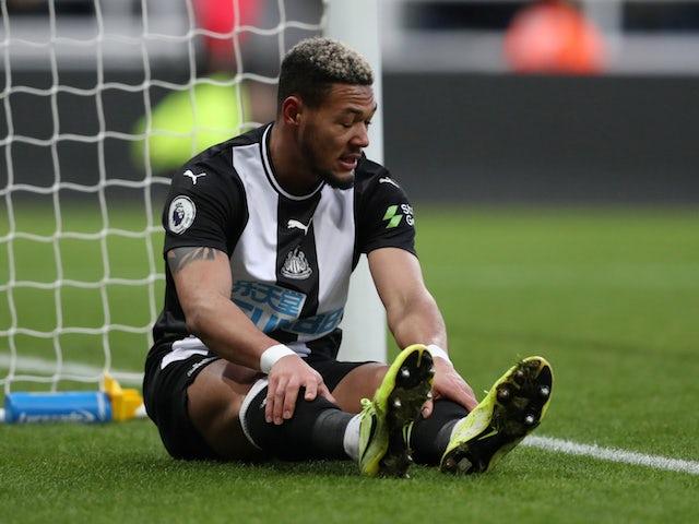 Newcastle United's Joelinton reacts on January 1, 2020