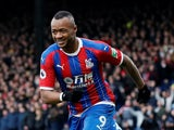 Jordan Ayew celebrates equalising for Palace on January 11, 2020