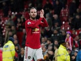 Manchester United midfielder Juan Mata pictured on January 11, 2020