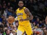 LeBron James in action for the Lakers on January 10, 2020