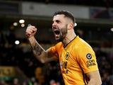 Wolves striker Patrick Cutrone pictured in December 2019