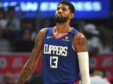 Paul George in action for the LA Clippers on January 5, 2020