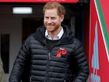 Prince Harry pictured on November 8, 2019
