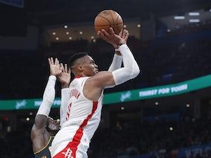 NBA roundup: Russell Westbrook endures heavy defeat on return to Oklahoma
