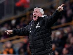 Newcastle boss Steve Bruce on January 11, 2020