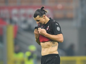 AC Milan deny reports of career-ending injury for Zlatan Ibrahimovic