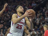 Ben Simmons in action for 76ers on January 17, 2020