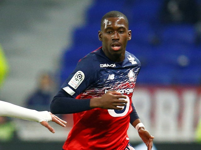 Lille's Boubakary Soumare pictured in December 2019