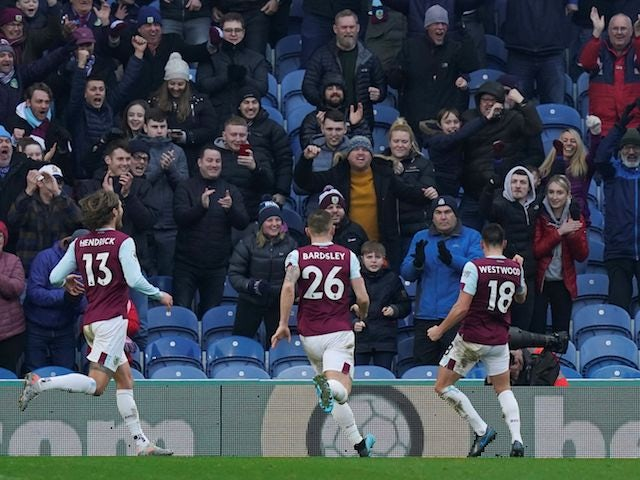 Result: Burnley come from behind to beat Leicester
