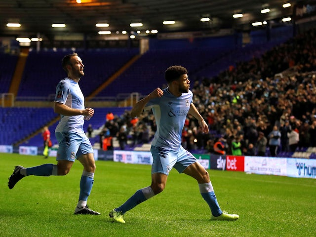 Result: Coventry beat Bristol Rovers to set up fourth round tie with Birmingham