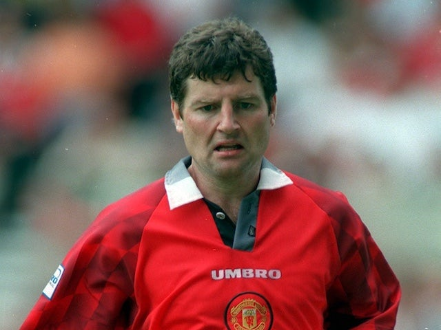 Denis Irwin pictured in 2001