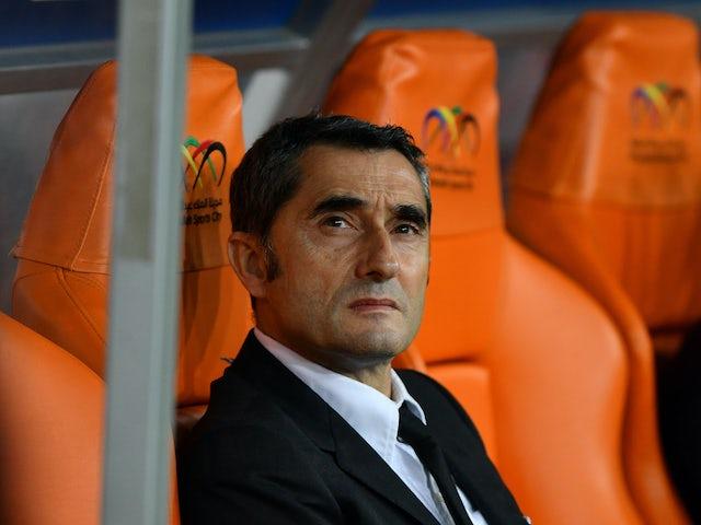 Ernesto Valverde thanks Barcelona fans and staff after sacking