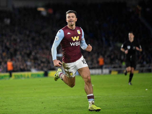 Result: Jack Grealish earns Villa point at Brighton