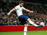 Jan Vertonghen in action for Spurs on January 14, 2020