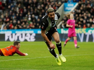 Joelinton scores as Newcastle dent 10-man Sheffield United's Euro hopes