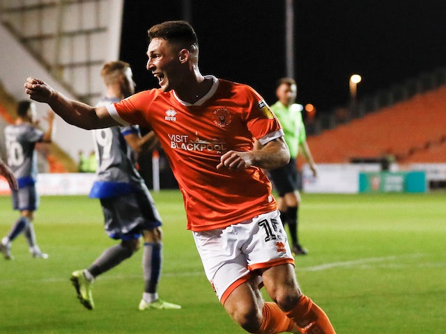 Stoke bring in Jordan Thompson from Blackpool