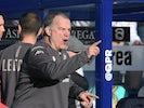 Angry Leeds boss Marcelo Bielsa on January 18, 2020
