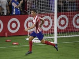 Atletico Madrid midfielder Marcos Llorente pictured in July 2019