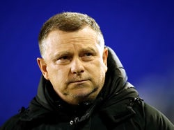Coventry City manager Mark Robins pictured on January 14, 2020
