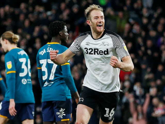 Result: Matt Clarke's debut goal enough to see Derby past Hull