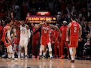 New Orleans Pelicans forward Brandon Ingram (14) celebrates after scoring with 0.2 seconds left in regulation against the Utah Jazz at the Smoothie King Center on January 17, 2020.