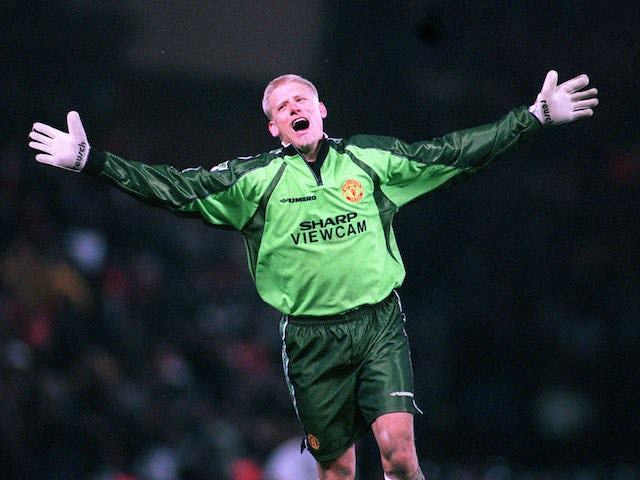 Peter Schmeichel pictured in 1999
