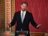 Prince Harry hosts the Rugby League World Cup draw on January 16, 2020