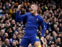 Ross Barkley celebrates scoring for Chelsea in the FA Cup on January 5, 2020
